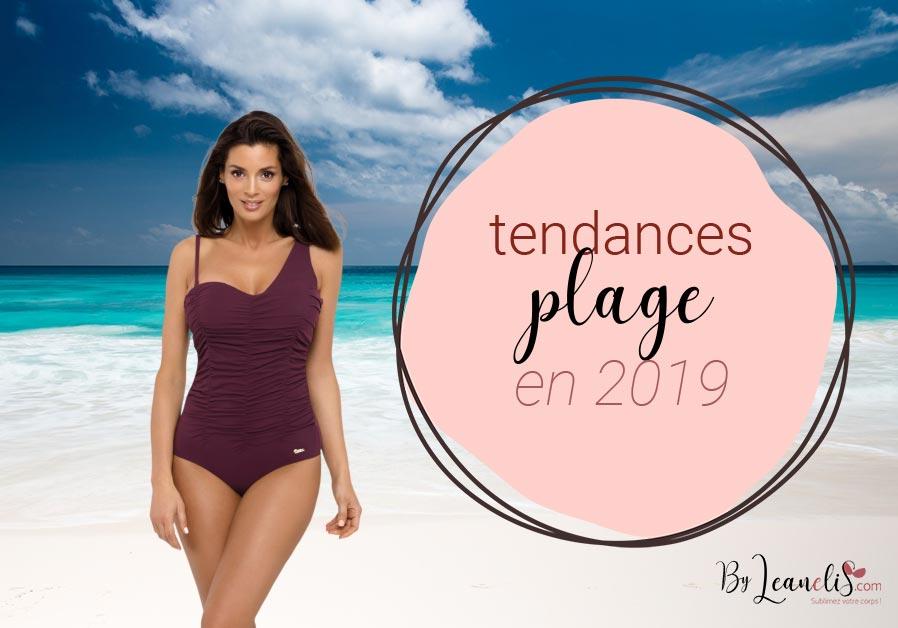 af27537ab7 Tendances été 2019 : que porter à la plage ? - Le blog lingerie