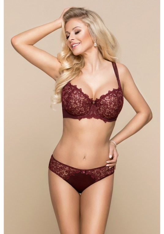 Ensemble de lingerie bordeaux by Konrad