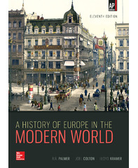 McGraw Hill's A History of Europe (Palmer)