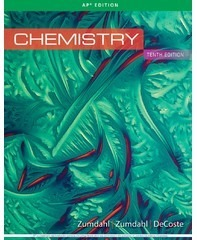 Cengage Learning's Chemistry (Zumdahl)