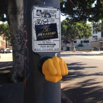 Fist-bump en Californie