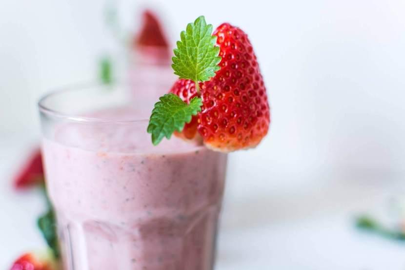 Smoothie fraise acérola