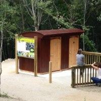 Cabine de toilette sèche sur mesure dans l'Aude