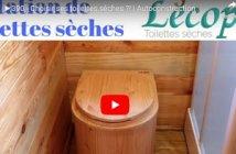 aménagement intérieur toilette sèche