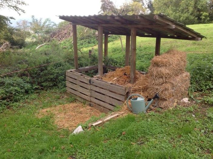 composteur à déchets de toilette écologique