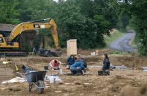 Les fouilles du site de Bouriège et la cabine Lécopot