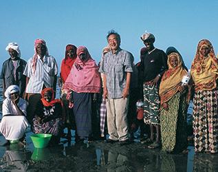 Gordon Sato in Eritrea