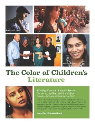 Color of Children's Literature Flyer - VERSION V (March 20, 2016; 9h51)