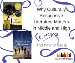 Why Culturally Responsive Literature Matters