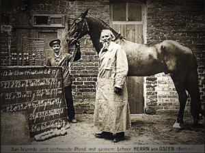 Clever Hans with owner Wilhelm von Osten