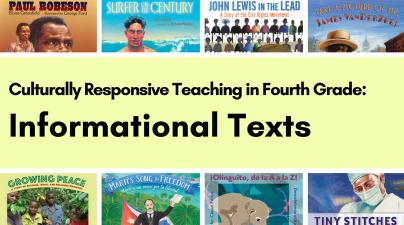 Culturally Responsive Teaching, Grade 4