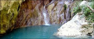 Waterfalls in Lefkada