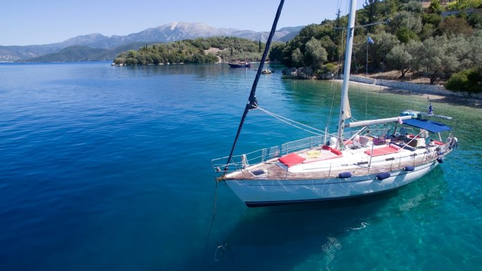 Lefkada Daily Cruise Sailing