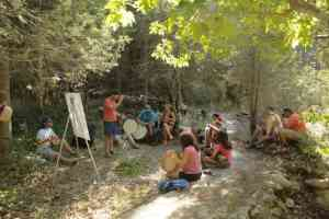 5th Artventure Camp in Lefkada
