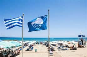 Greece has the cleanest waters in Europe for swimming.