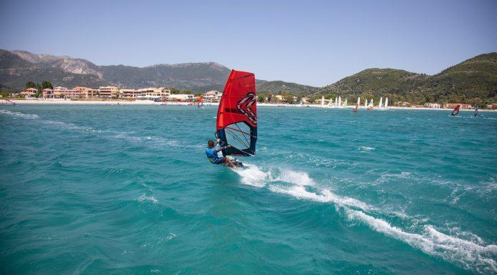 windsurfing vasiliki