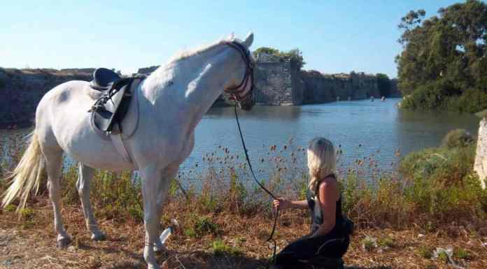 Horseriding in Lefkadas' Venetian Castle
