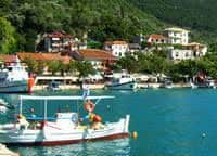 The harbour of Vasiliki Lefkada