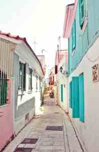 Colourful alleys of Lefkada