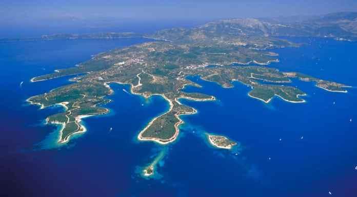 Meganisi Island in Lefkada