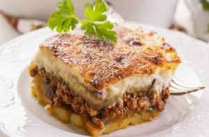 What about Greek Moussaka ?