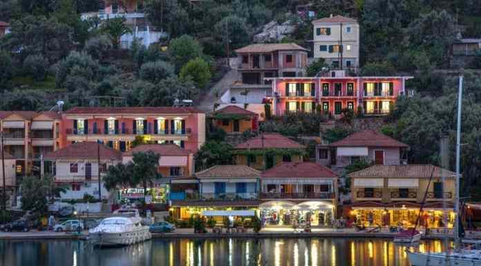 Sivota Bay in Lefkada
