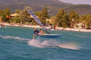 Windserfing: One of the most famous sea sports in Lefkada!
