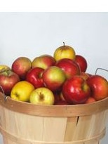 Bushel baskets available at Lehmans.com or Lehman's in Kidron, Ohio.