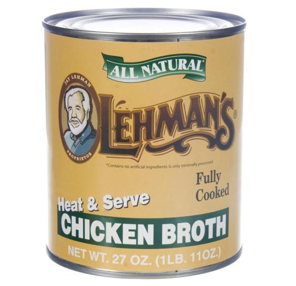 Lehman's Chicken Broth