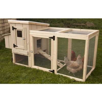 Easily moveable, this coop will keep your birds secure. Click on the picture for more details.