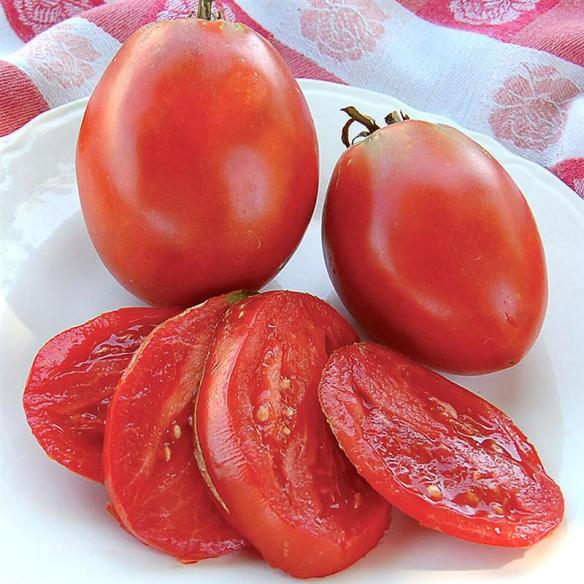 """Find certified organic, non-GMO heirloom seeds at Lehmans.com - like Amish Paste Tomato. One gardener said: """"These tomatoes are the best I've found. If you like a good canning tomato, you can't beat them."""""""