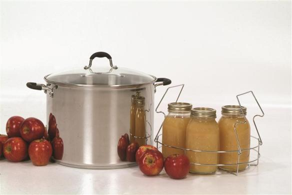 You've used it for canning, but it's also great for soup! Ball's Stainless Steel Stockpot is in stock now at Lehman's in Kidron, Ohio or at Lehmans.com.