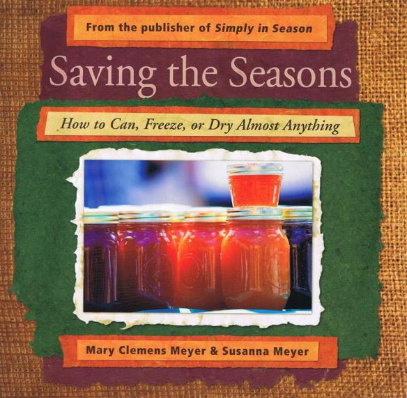 Saving the Seasons is available now at Lehmans.com or Lehman's in Kidron, Ohio.