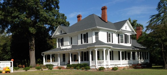 Gorgeous repurposed home is now Lillington, NC's town hall.
