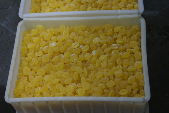 Claeys Sugared Hard Candies Lemon