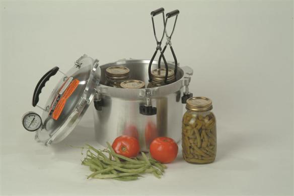 Pressure canner, pressure cooker