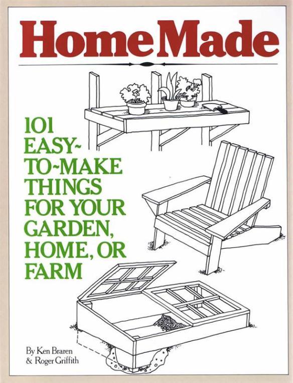 HomeMade house and garden plans book