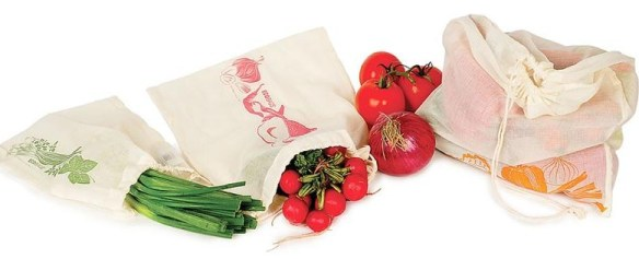 Use Produce Ecobags to keep veg and fruit fresh! Machine washable. At Lehmans.com or Lehmans in Kidron, Ohio.