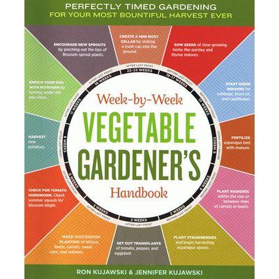 Week-by-Week Vegetable Garden Handbook for year round gardening