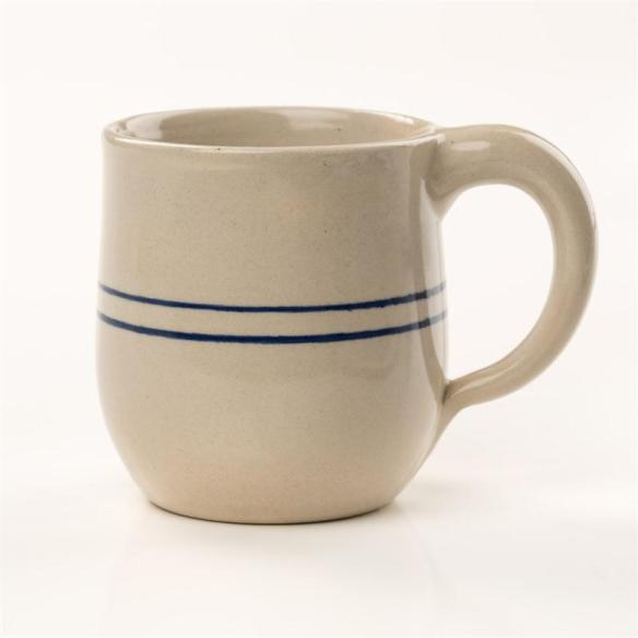 I usually grab a stoneware mug when dissolving gelatin in warm water. The stoneware keeps it warmer longer. Check out Lehman's Heritage Blue Stripe Stoneware at www.lehmans.com.