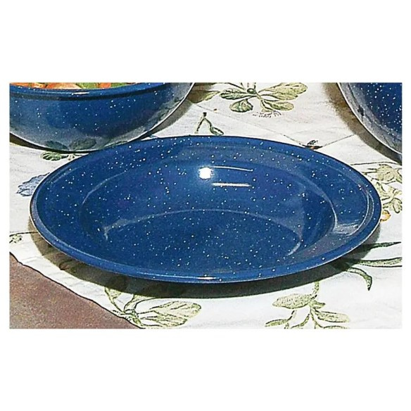 Royal Blue Enamelware Bowls at Lehmans.com