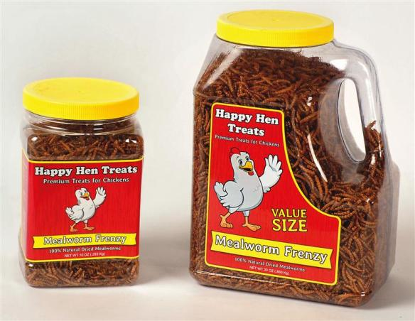 Spoil your flock with Happy Hen Treats - they'll love them!