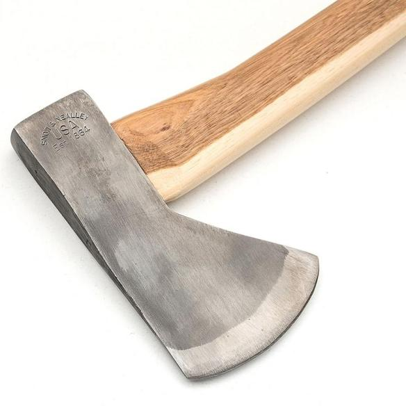 Originally designed for trappers, hunters and fisherman, the Hudson Bay camping axe is a durable, dependable tool for all around around the cabin and campsite. At Lehmans.com and our store in Kidron, Ohio.