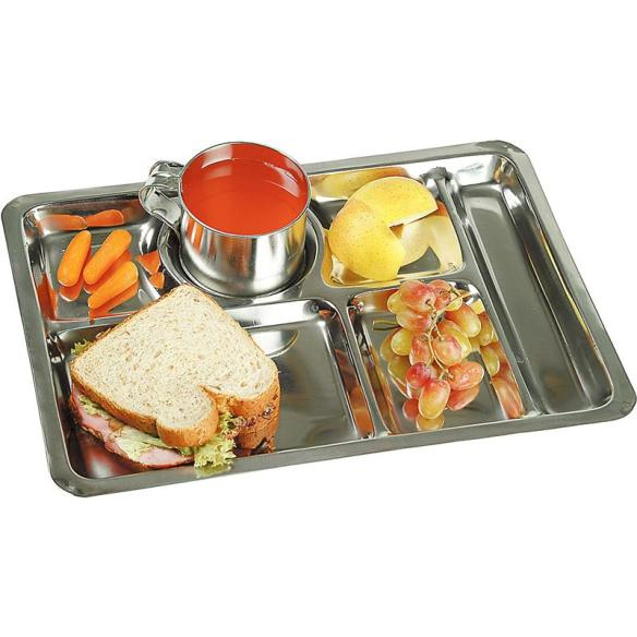 Our stainless steel picnic trays are perfect for families, potlucks, parties and gatherings. A customer favorite for years! At Lehmans.com and our store in Kidron, Ohio.