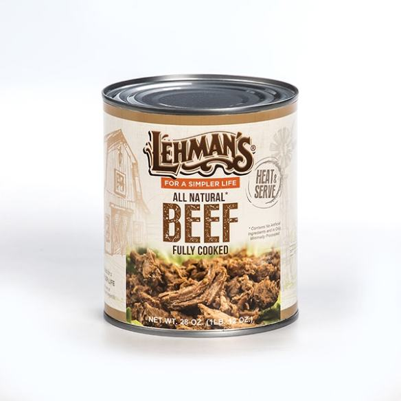Lehmans Canned Beef Meat 28 oz