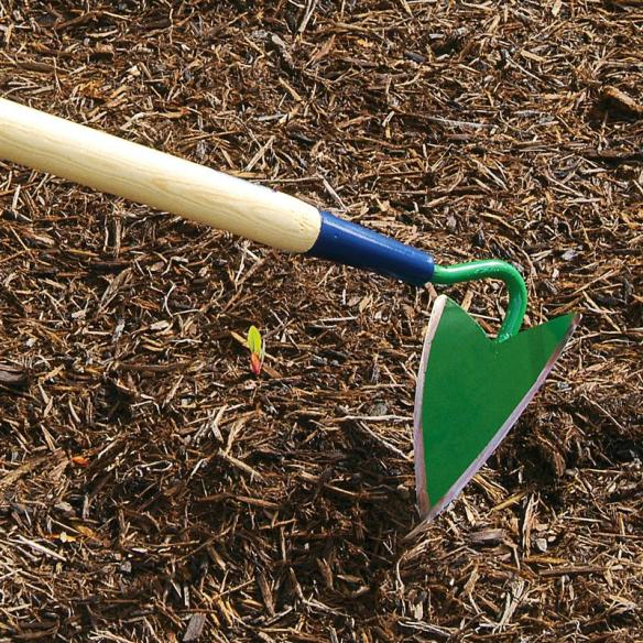 Our Amish-made furrowing hoe is one of the best row-makers and precision weeders we've found.