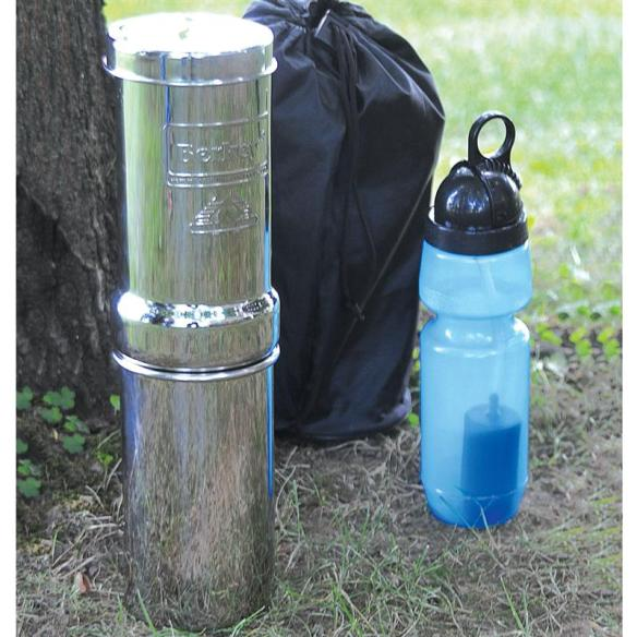 """""""If you are single, traveling or camping this little filter does everything the larger one does. Best tasting water ever! Itty Bitty for the right situation."""" - Customer Review"""