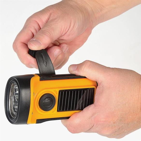 A potential lifesaver in emergencies, and a helpful light on countless other occasions. This bright LED flashlight never needs batteries, so it's always ready to use. A best-seller at Lehmans.com.