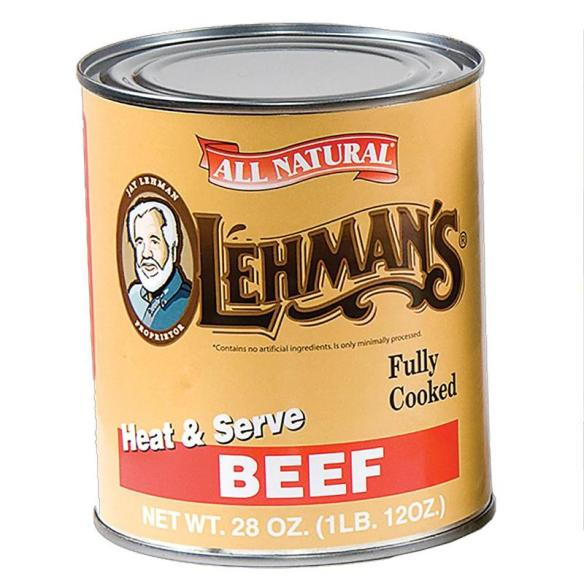 Our delicious canned meats and broths make winter soups and stews come together in minutes! At Lehmans.com.