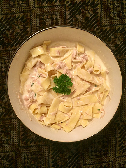 Turkey Fettucini